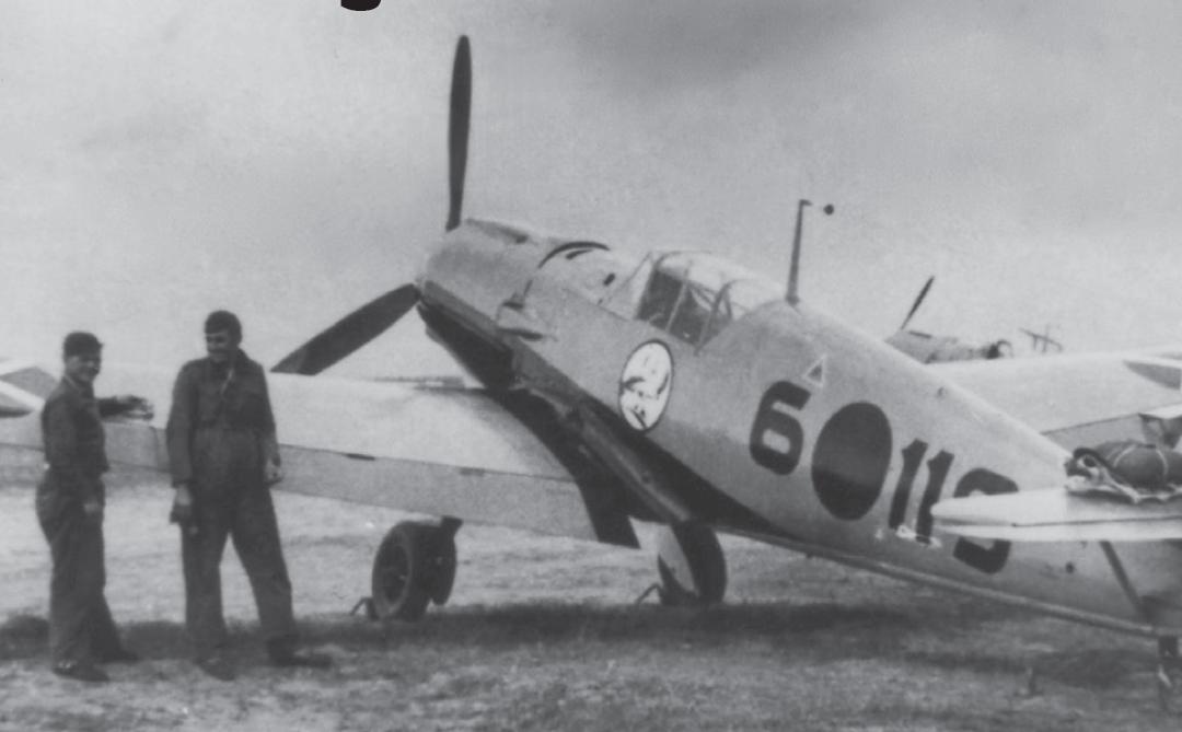 Messerschmitt Bf 109E nad Španělskem ve službách Legion Condor